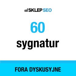 60 linków - Fora dyskusyjne...